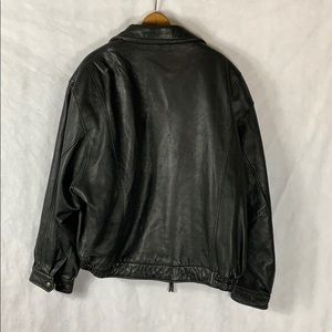 Couture Jackets & Coats - Vintage Couture Lamb Leather Bomber Jacket XL